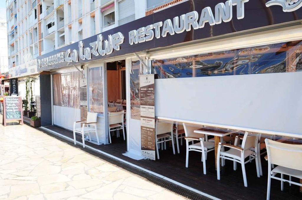 Fermeture de terrasse du restaurant La Tortue