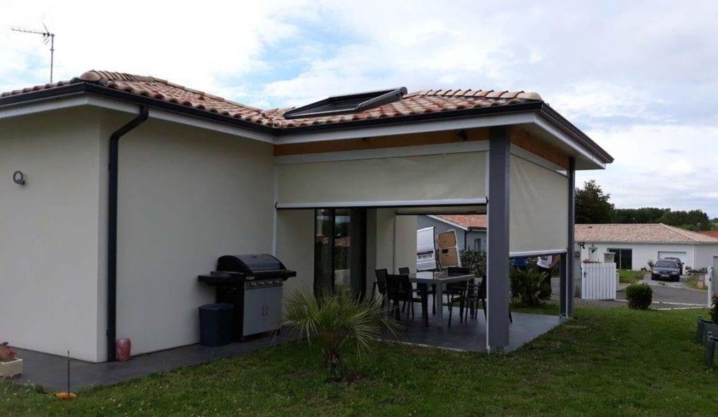 Store de protection solaire