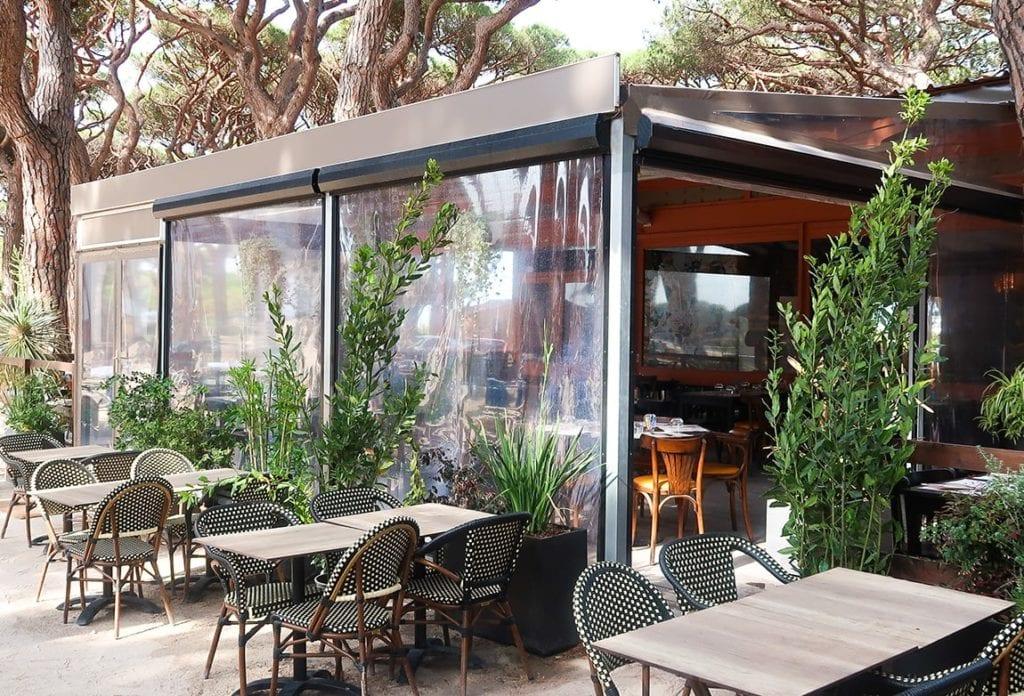 Store transparent Restaurant Le driver