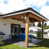 Fermeture de terrasse pour la protection solaire